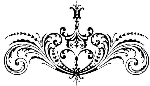 Scrollwork scroll work clipart 4