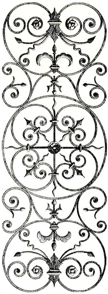 Scrollwork vintage clip art and clip on
