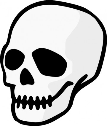 Skull clip art background free clipart images 2
