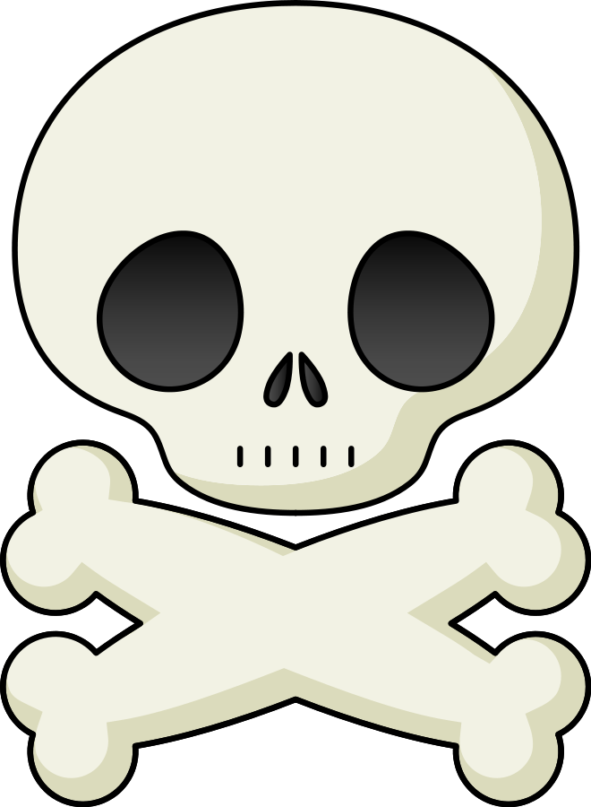 Skull clip art background free clipart images 6