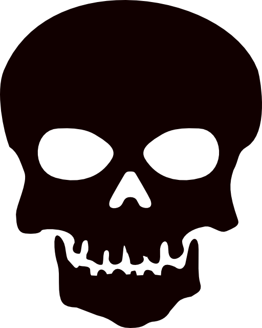 Skull clip art background free clipart images