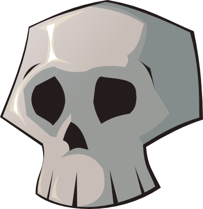 Skull clip art free clipart images