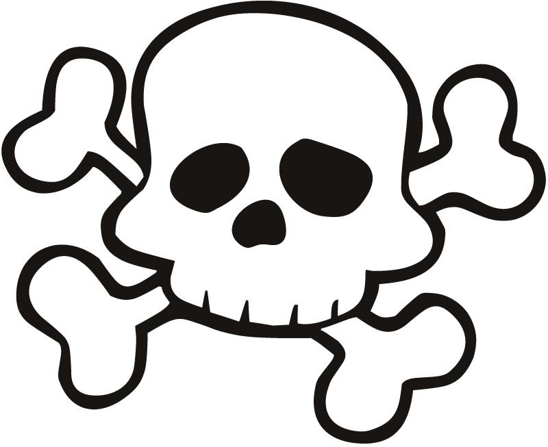 Skull clipart 5