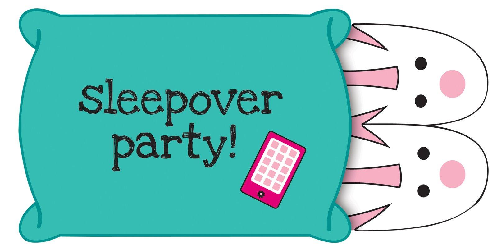Sleepover mores clipart hostted
