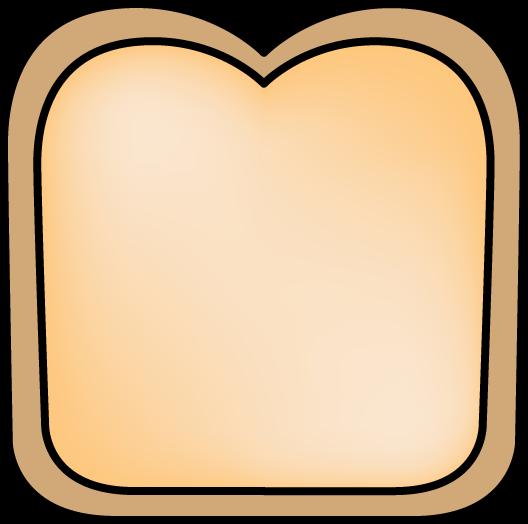Slice of bread clipart 2