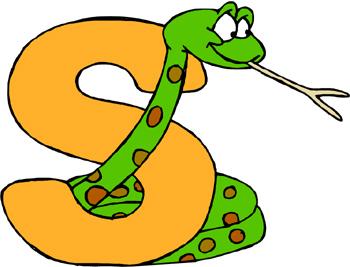Snake border clipart 2