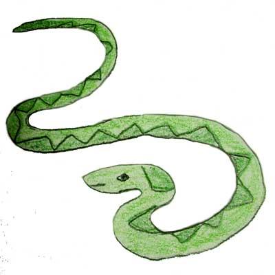 Snake clip art 5