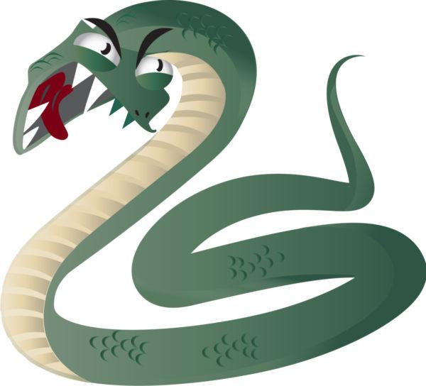 Snake clip art clipart image 1 4