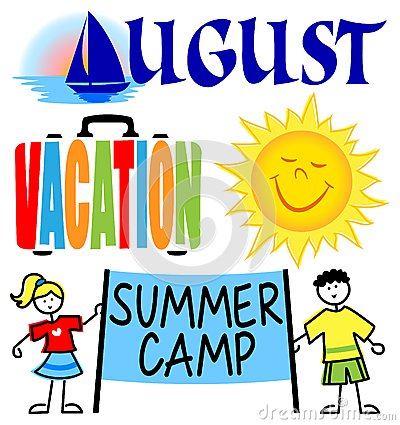 Summer camp border clipart free images 4