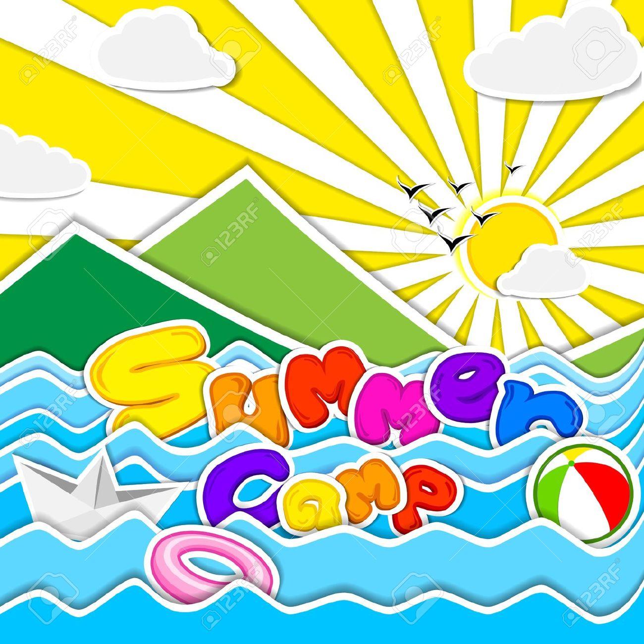 Summer camp clipart 0 5