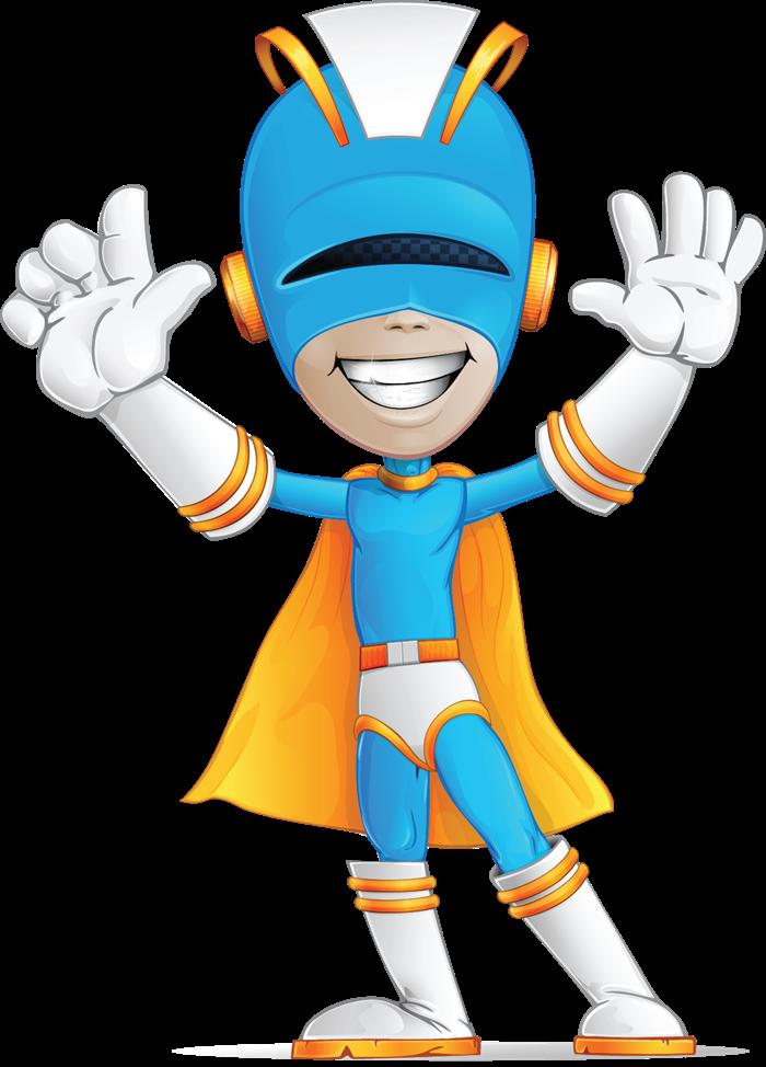 Superhero free to use clip art