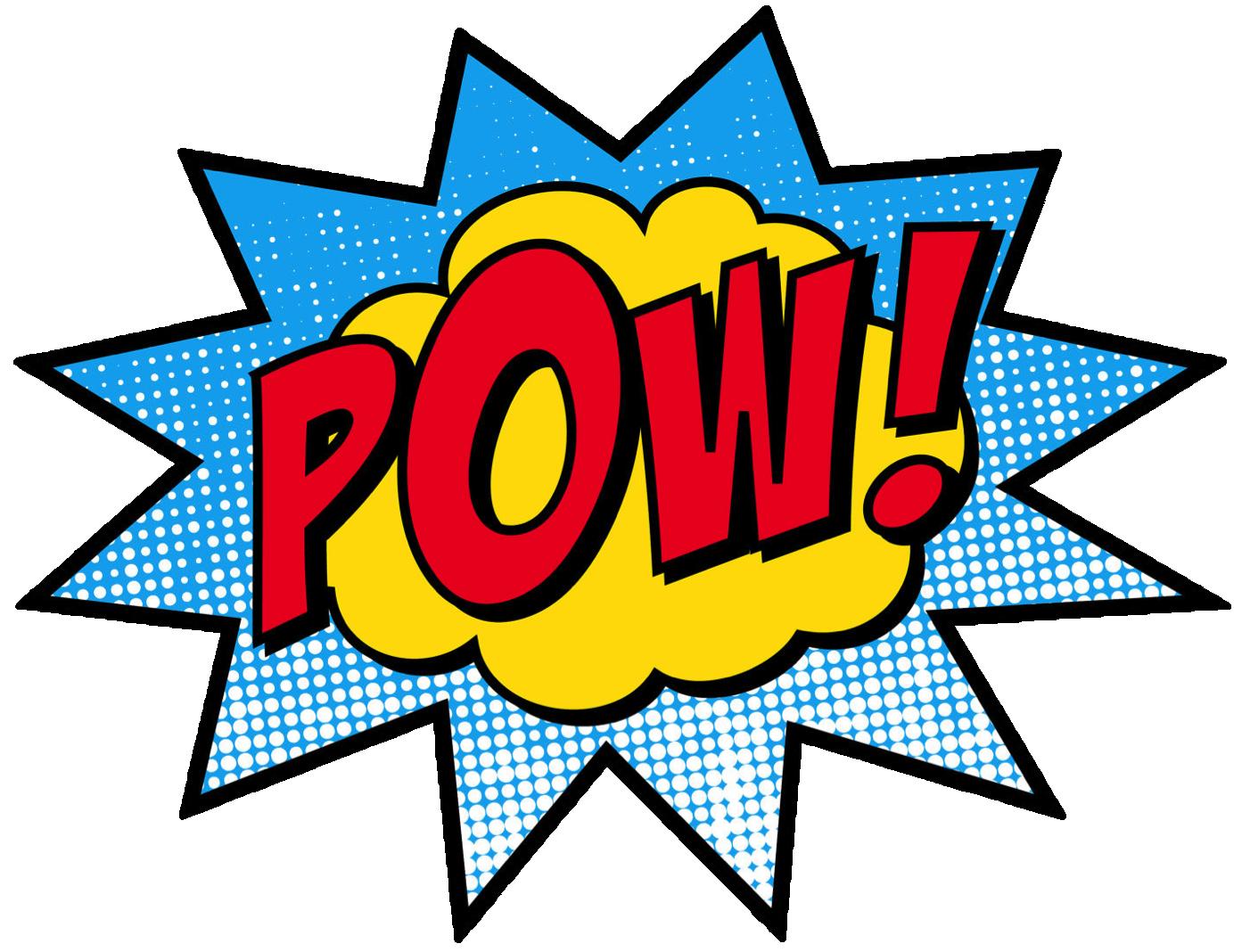 Superhero super hero words clip art free clipart images 2