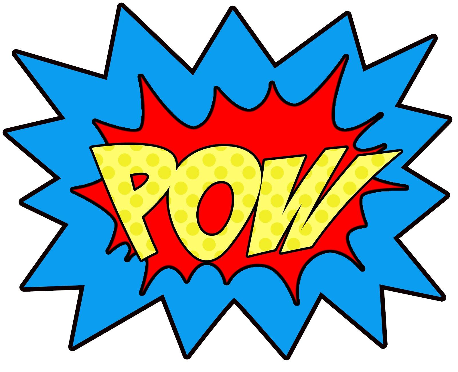 Superhero super hero words clip art free clipart images