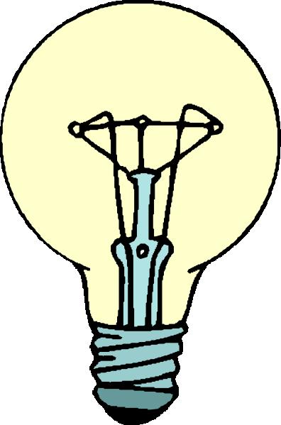 Tiny light bulb lightbulb clip art clipart pictures 2