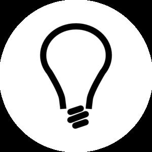 Tiny light bulb lightbulb clip art clipart pictures