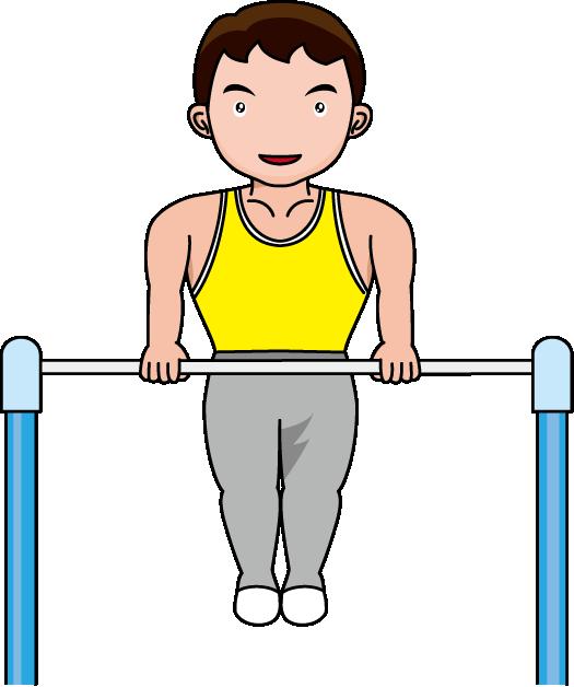 Tumbler gymnastics clipart 3