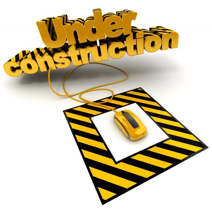 Under construction clip art 3