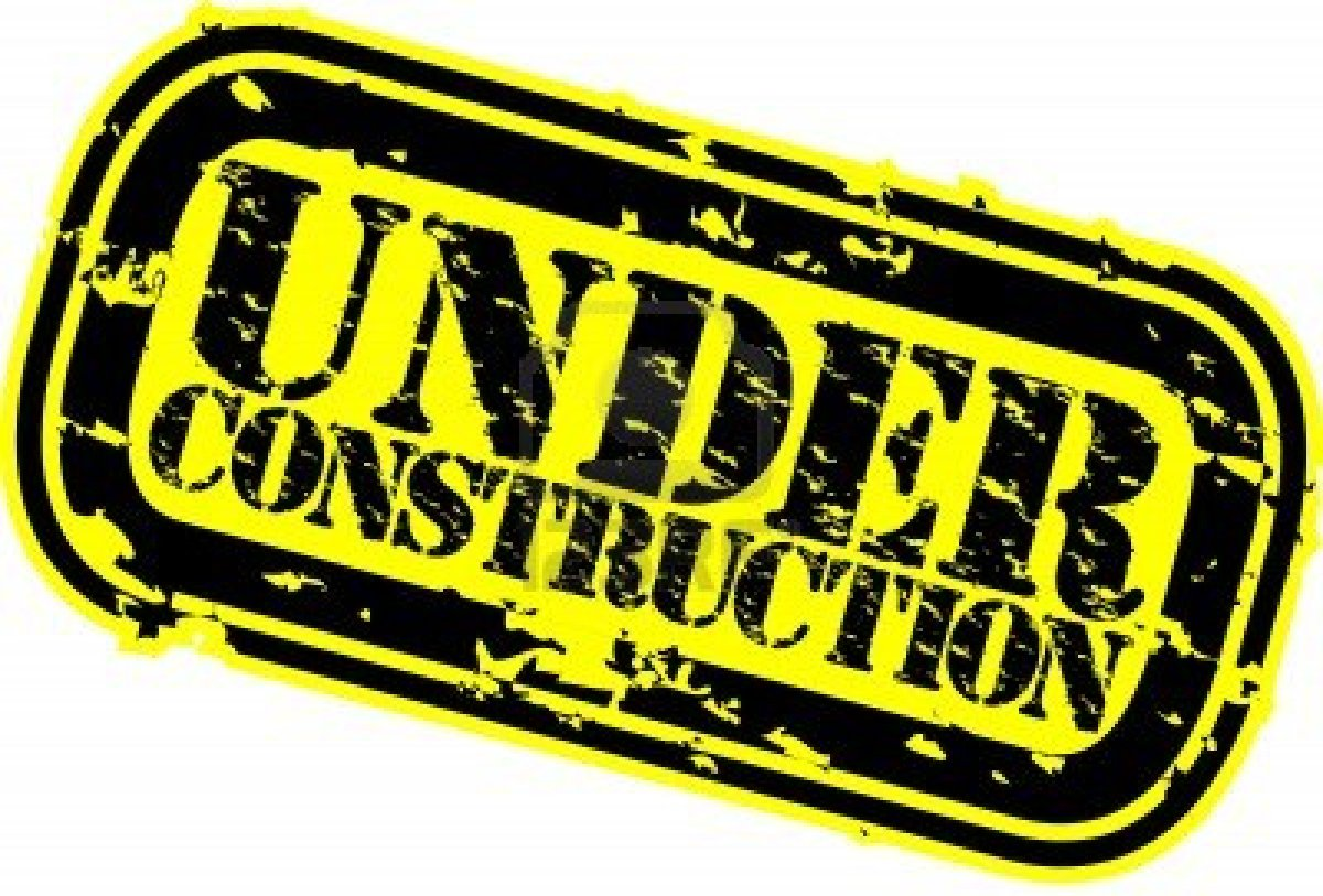 Under construction clipart free images