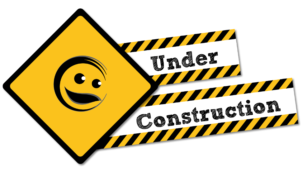 Under construction clipart hostted