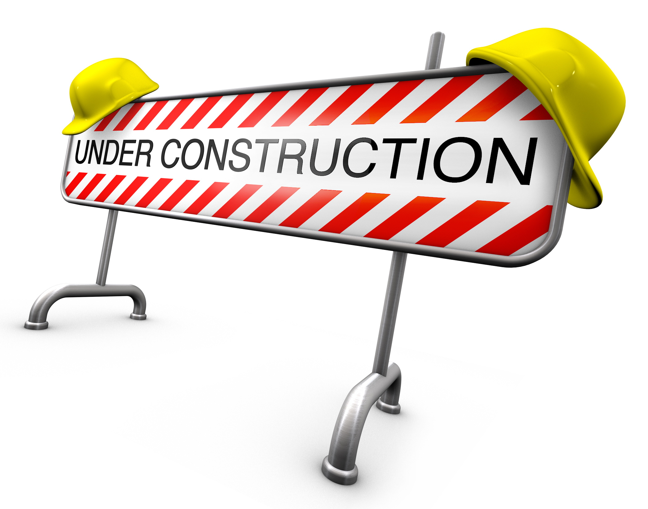 Under construction signs clipart 3