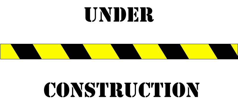 Under construction signs clipart 4