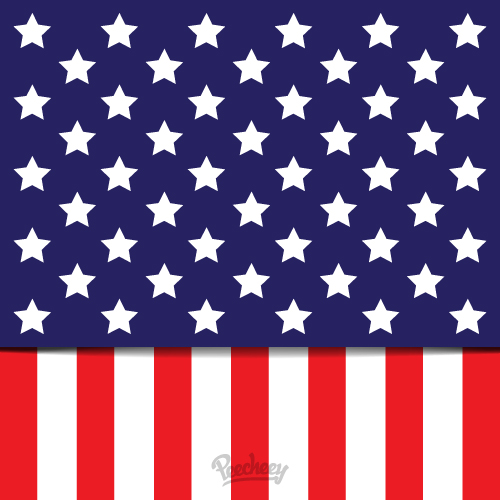 Waving american flag clip art free vector graphics freevectors