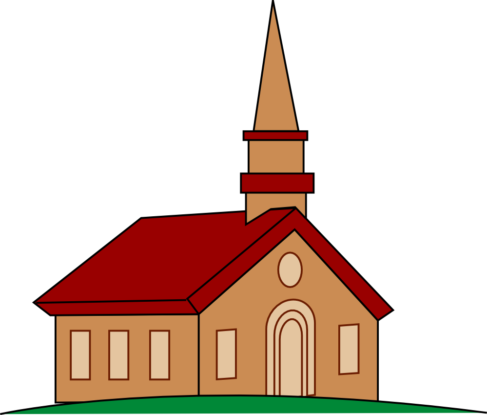 Wedding church clip art free clipart images