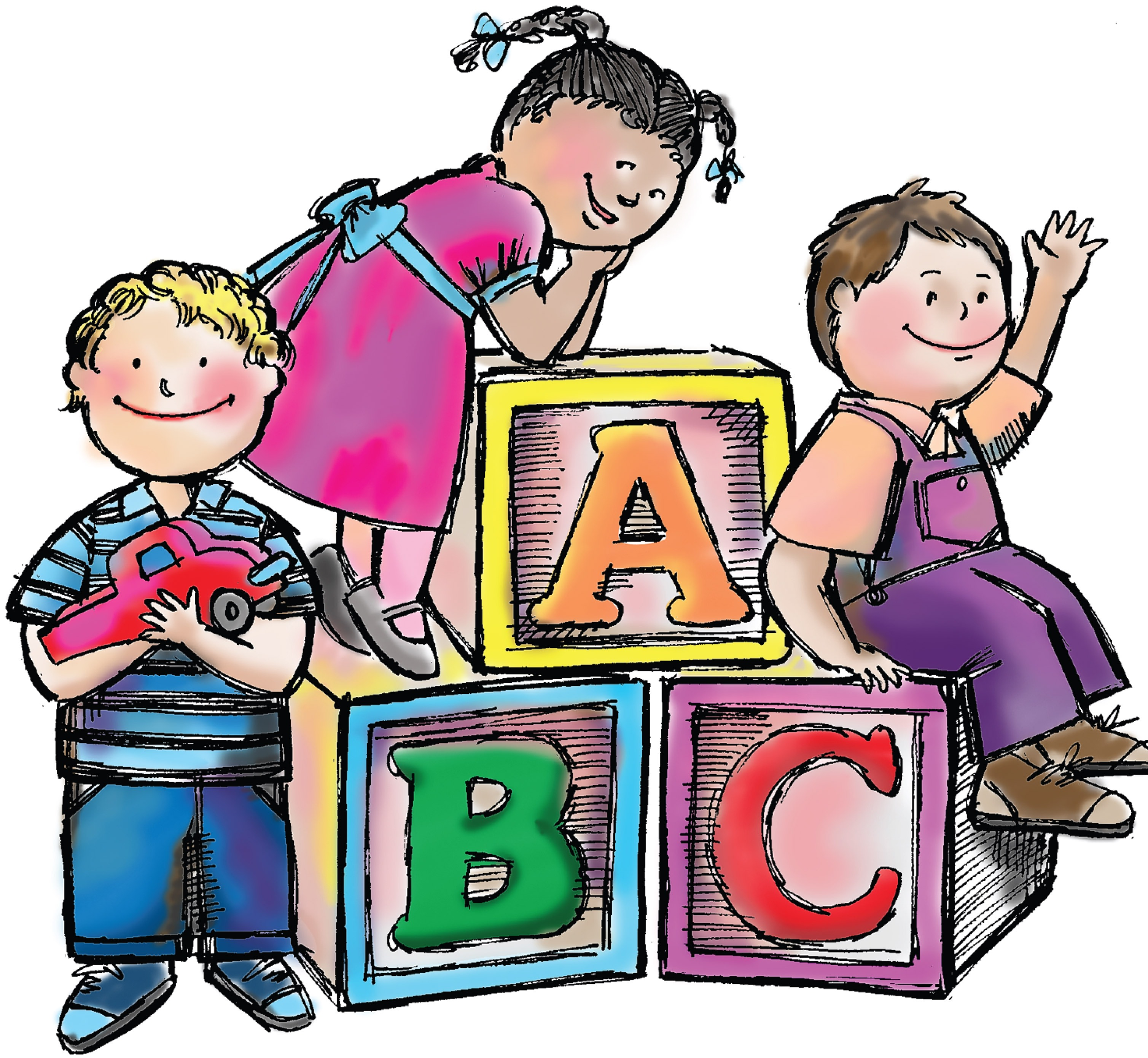 Welcome to preschool clipart free images 2
