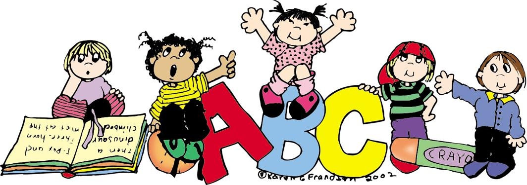 Welcome to preschool clipart free images 5