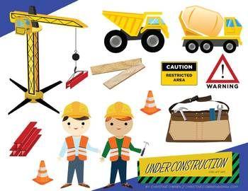 Women under construction clipart 2