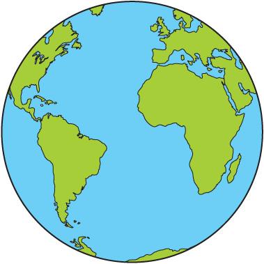 World globe clipart