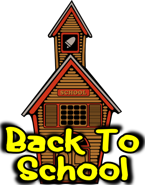 Back to school open house clipart