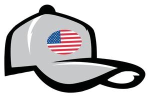 Baseball hat american hat clipart