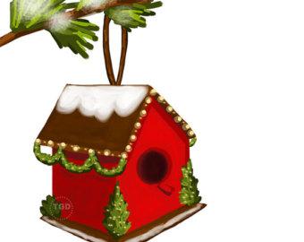 Birdhouse clipart 4