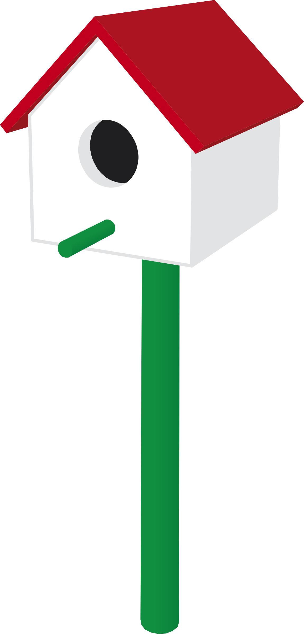Birdhouse clipart hostted 2