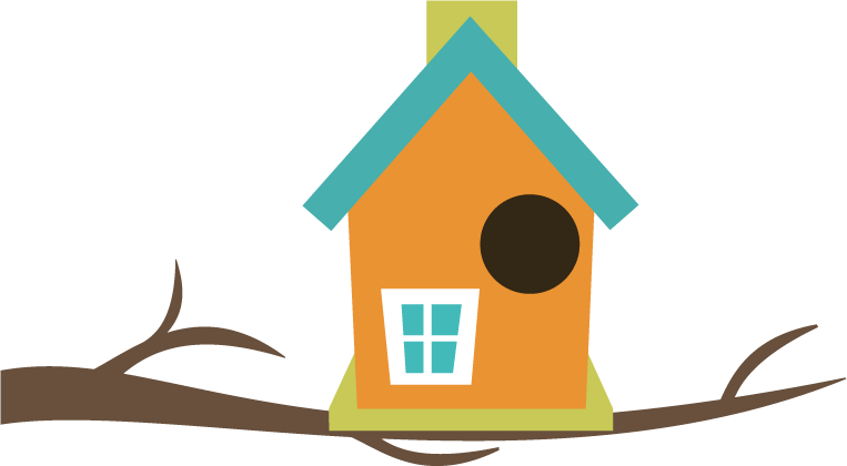 Birdhouse clipart hostted