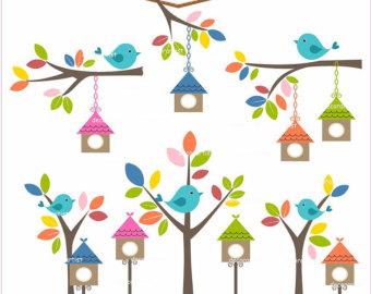 Birdhouse cliparts
