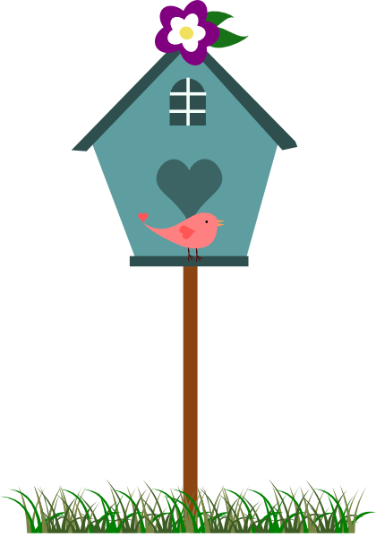 Birdhouse free clipart