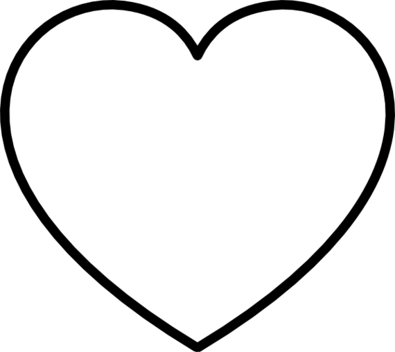 Black heart heart clipart black and white heart clip art