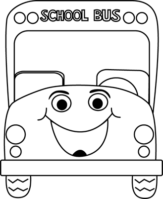 Bus  black and white black and white school bus cartoon clip art