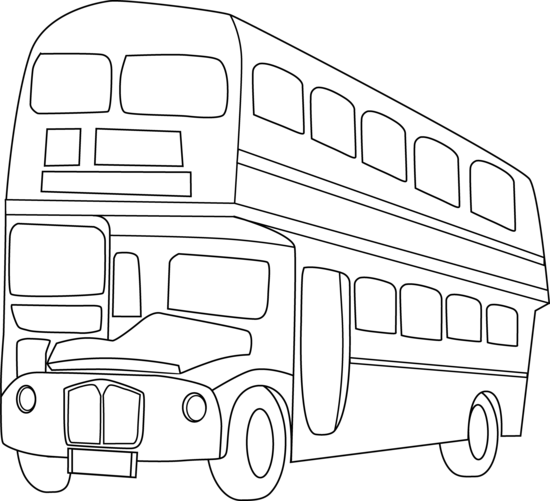 Bus  black and white bus clipart black and white 3