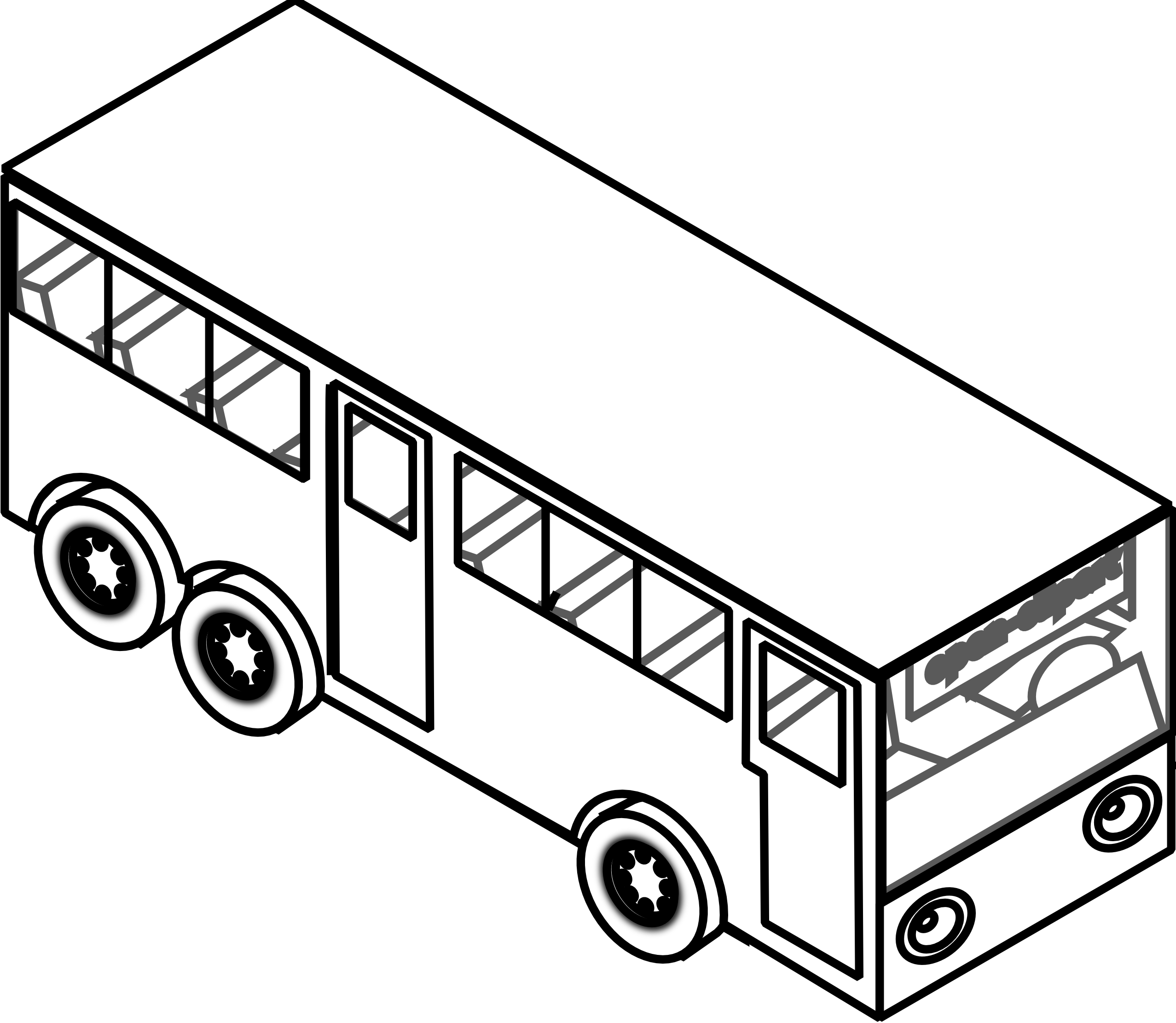 Bus  black and white bus clipart black and white free images