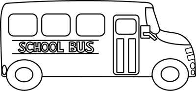 Bus  black and white school bus black and white clipart 2