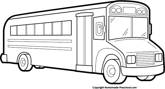 Bus  black and white school bus clip art black and white free clipart 4 wikiclipart 2