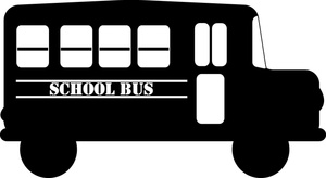 Bus  black and white school bus side view clipart black and white clipartfest 3