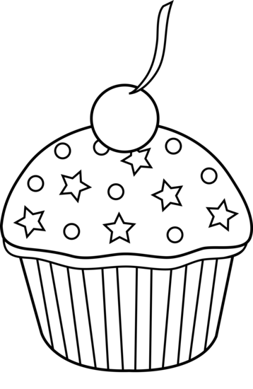 Cake Black And White Black And White Clipart Cake
