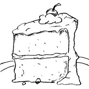 Cake Clipart Images Black And White : Cake black and white cake black and white clipart 5 ...