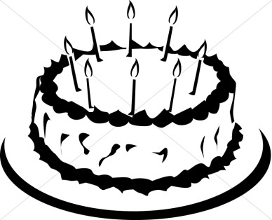Cake  black and white slice of cake clipart black and white free 3