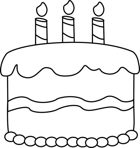 Cake  black and white slice of cake clipart black and white free