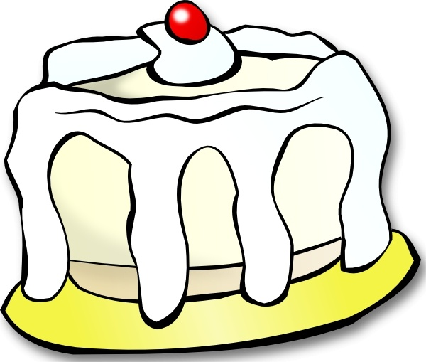Cake  black and white white cake clip art free vector in open office drawing svg